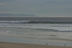 Los Angeles saw good surf all through the South Bay. The Beach Break at El Porto looking good.