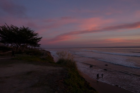 The Cliffs in Isla Vista. SB always coming through with the gorgeous sunsets.