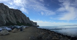"""The Rock"" at Morro Bay. Epic surf break right next to this monumental structure."